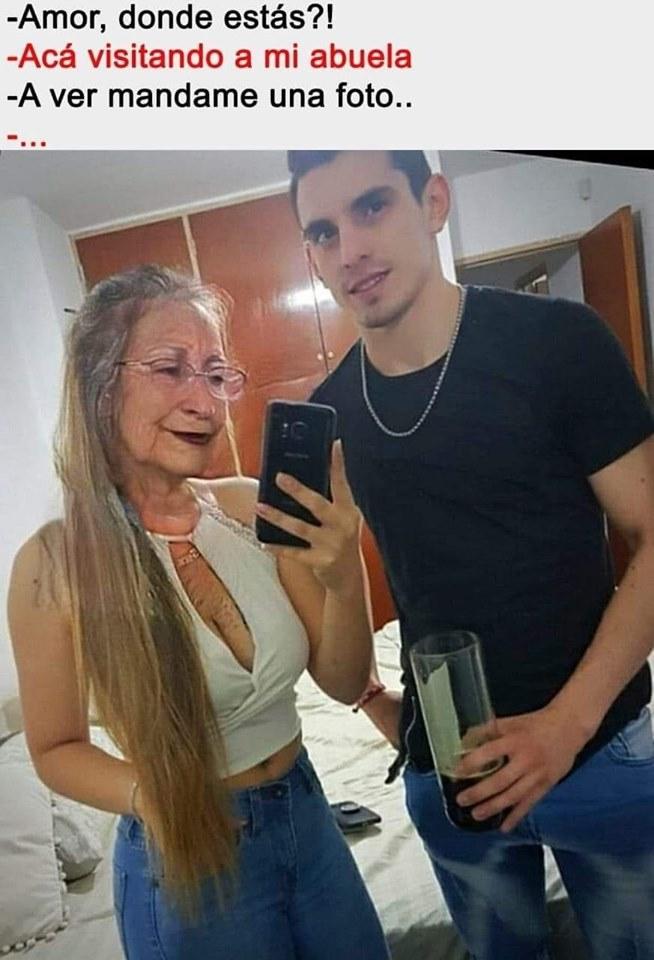 la abuela - meme
