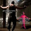 Pink man vs bane