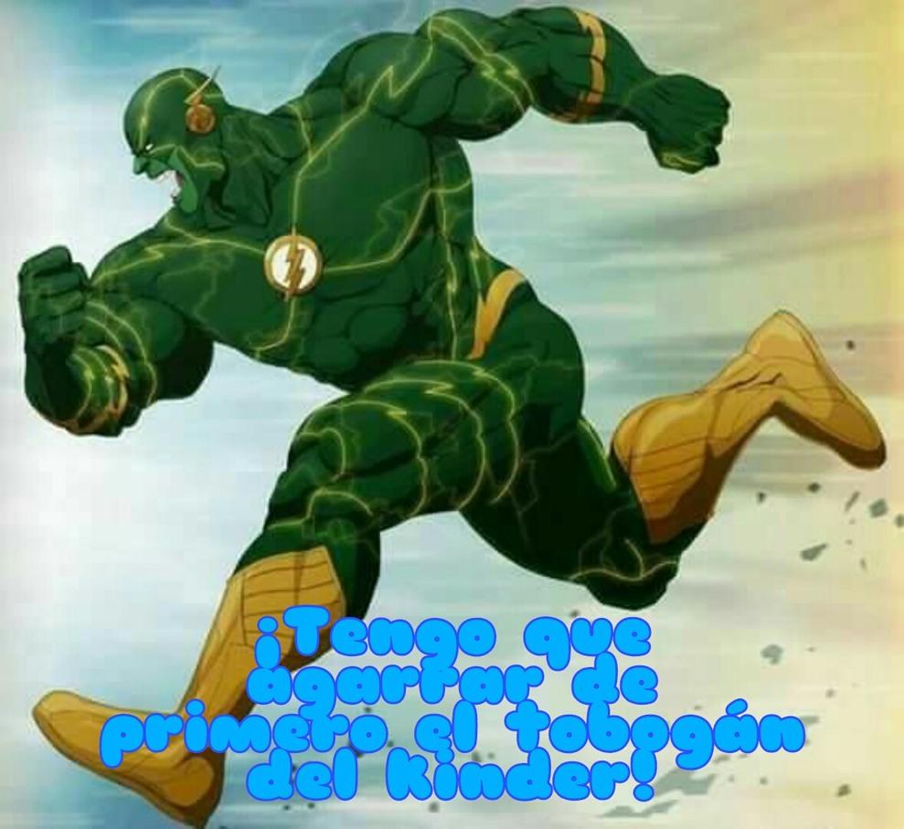 Hulk Flash - meme