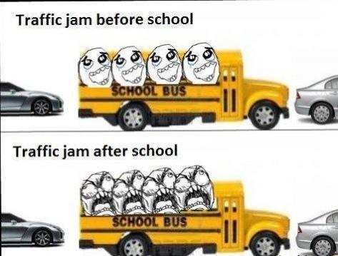 Bus Traffic - meme
