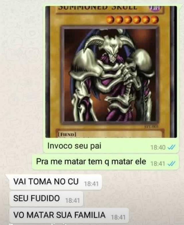 Deus do duelo Pt 10 - meme