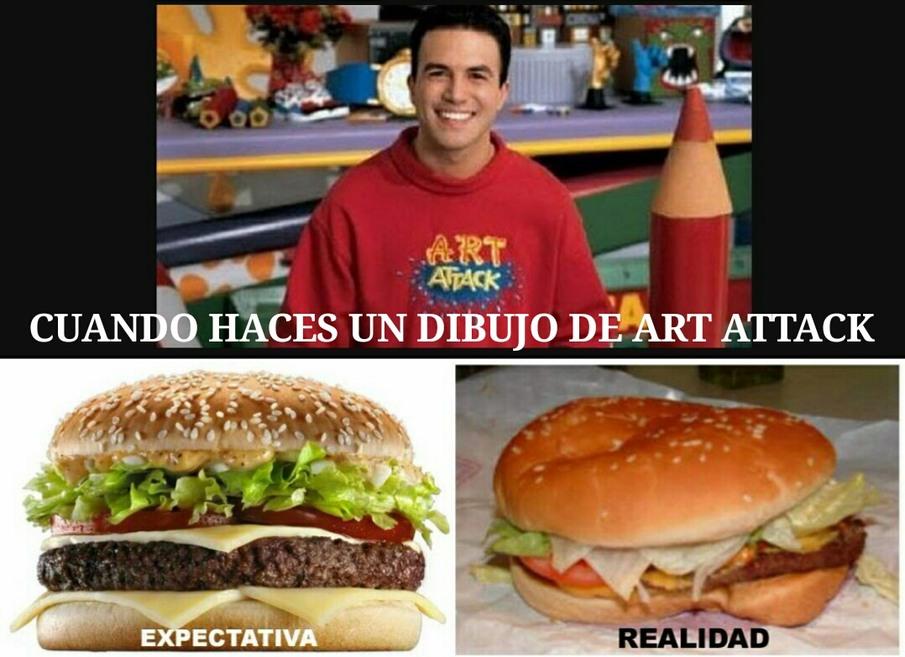Top Memes De Art Attack En Espanol Memedroid
