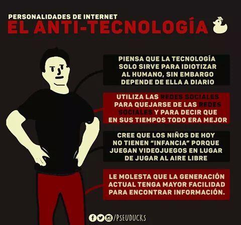 El Anti-Tecnologia - meme