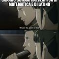 Anche se io latino non lo faccio ;)