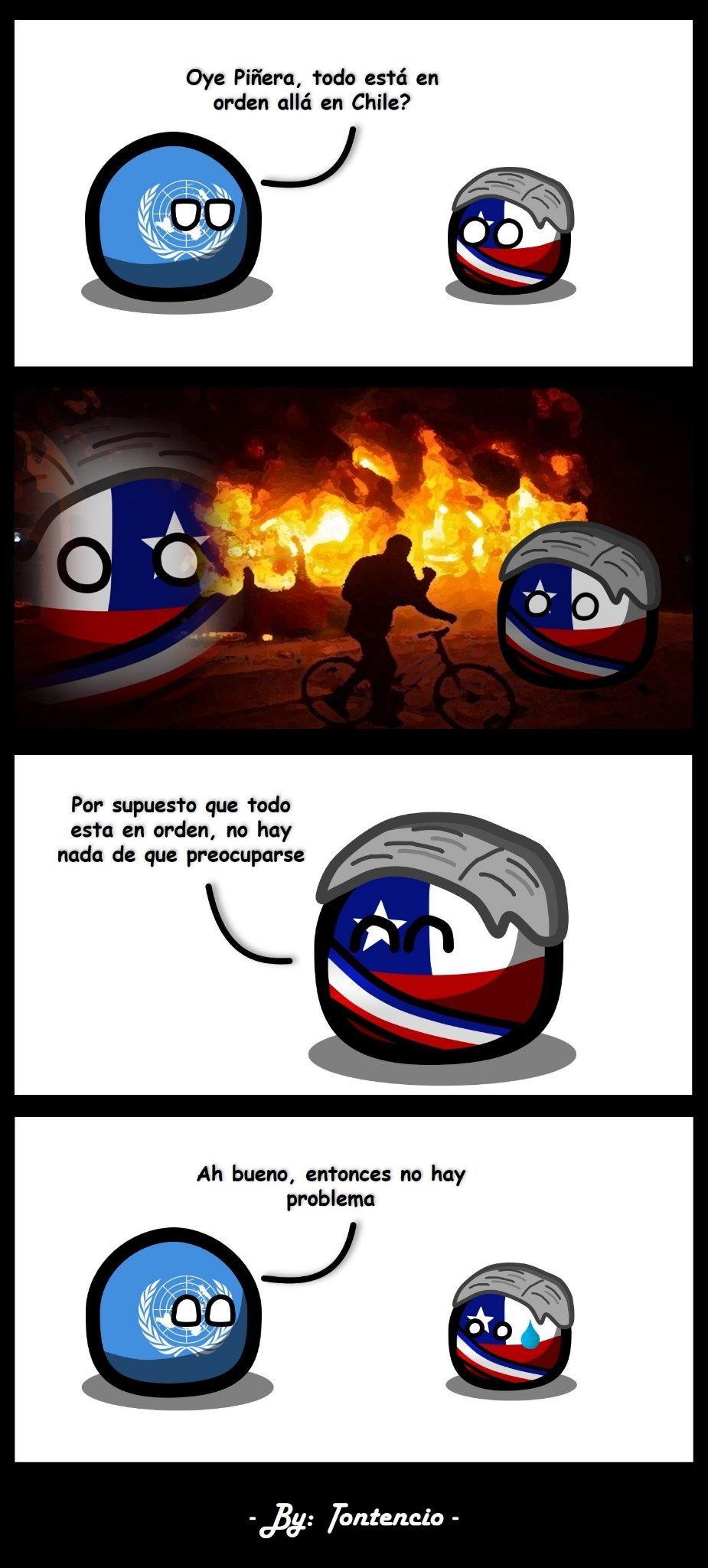 Awante Chile - meme