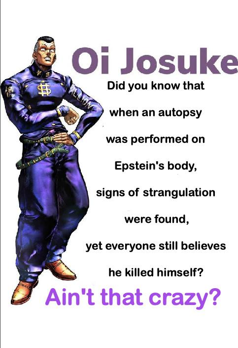 Oi Josuke - meme