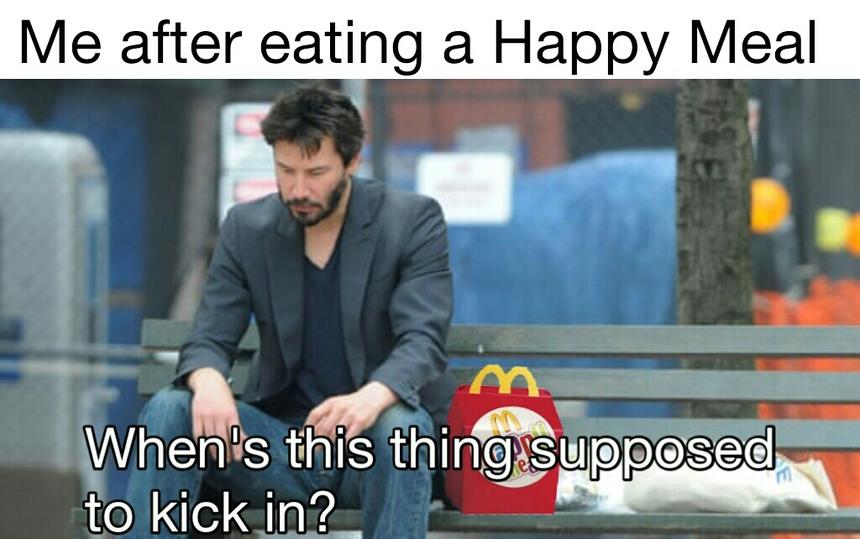 Keanu Feels - meme