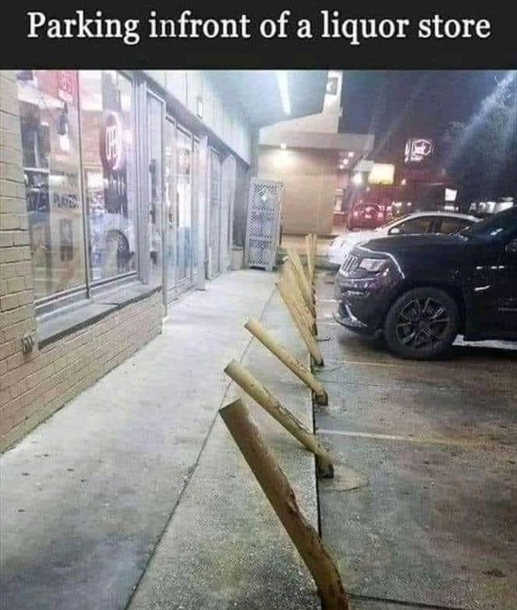 parking - meme