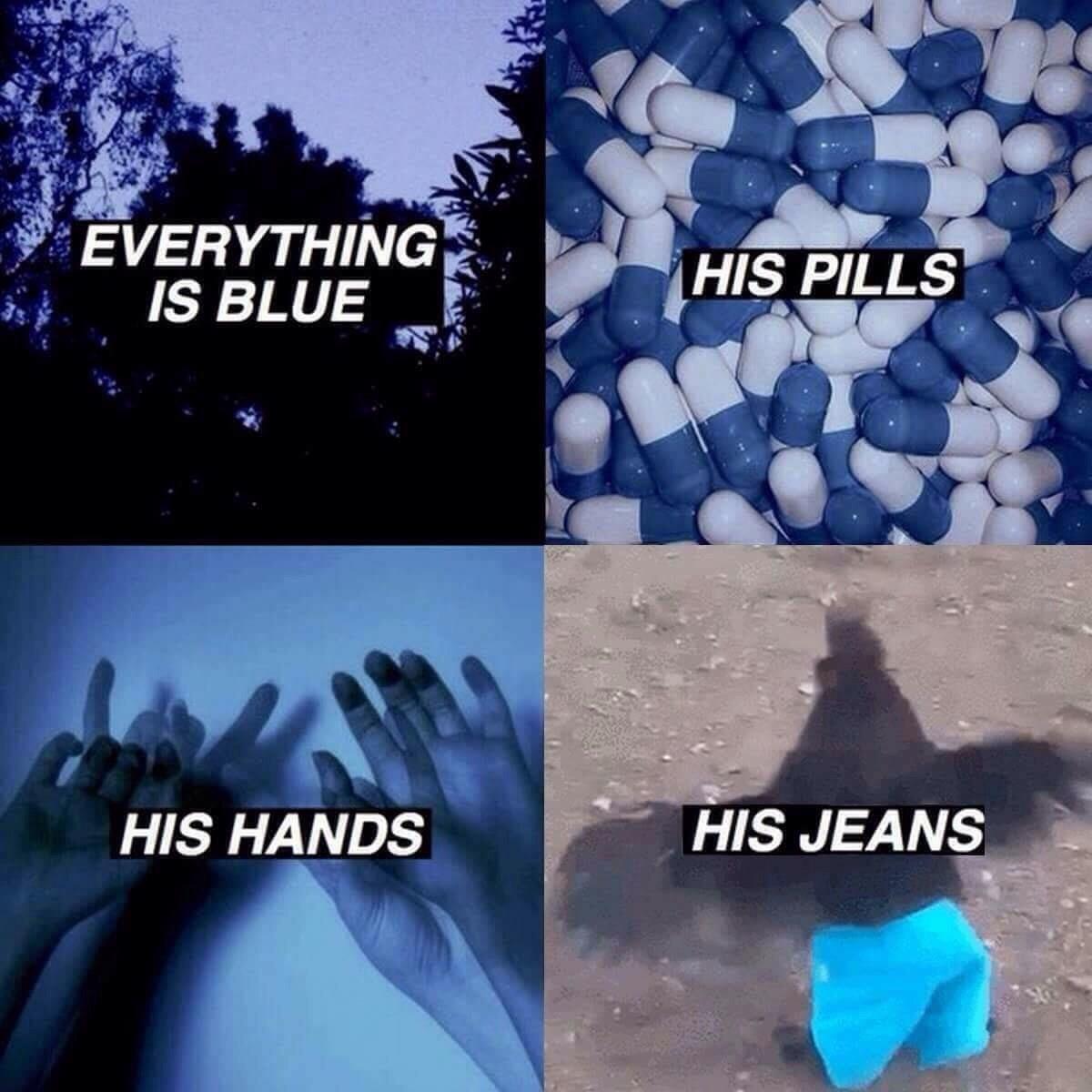 I'm blue dabu di dabu da dabudidabuda! - meme