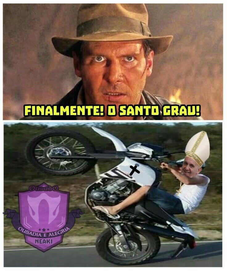 Papa xavoso - meme
