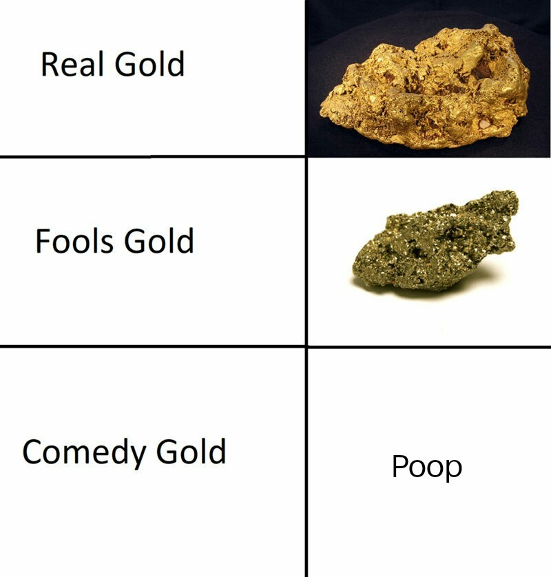 Gold Types - meme