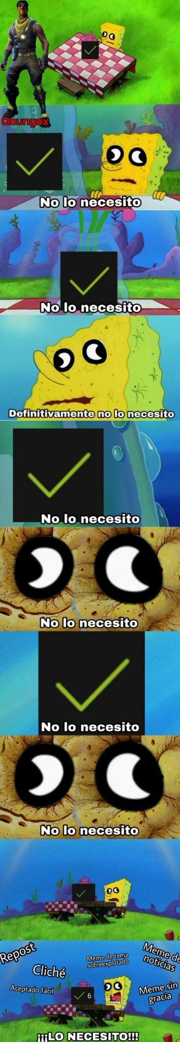 Vean mi canal: obungaguago - meme