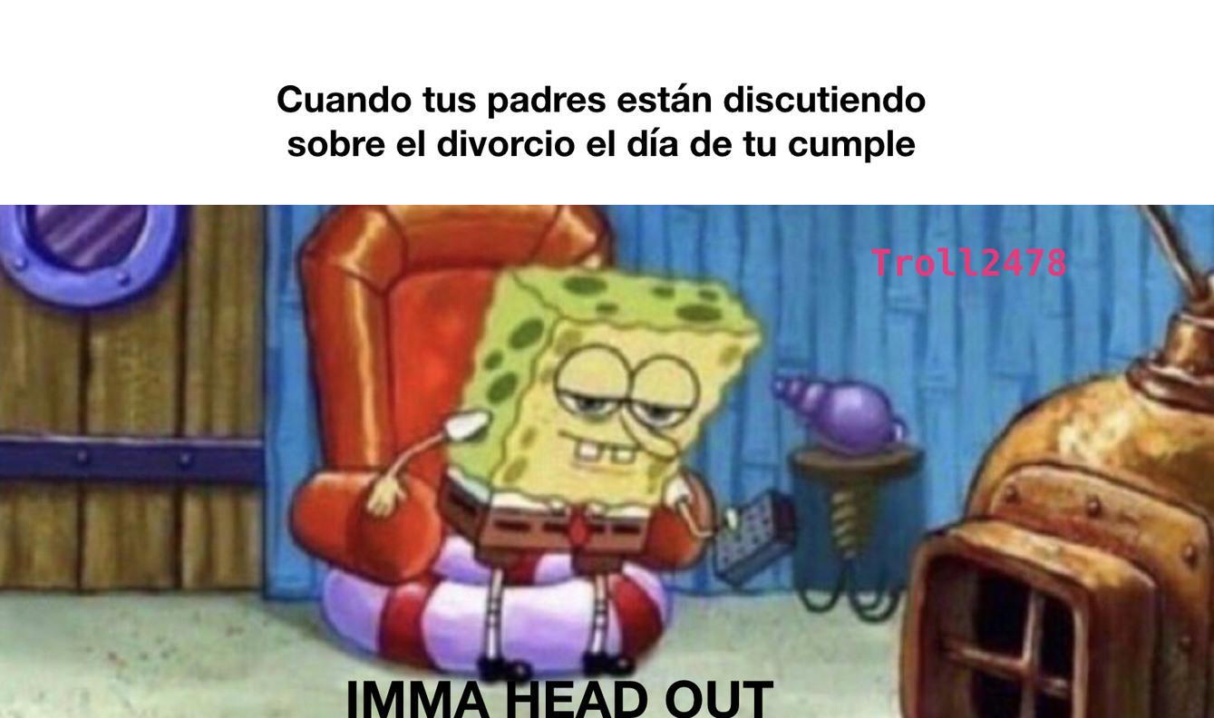 Divorcios - meme