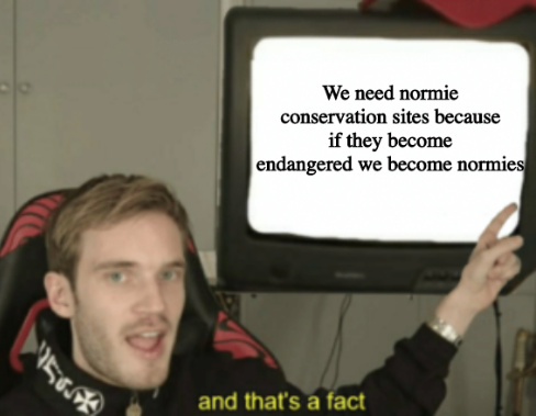 Yes i am a normie please give me hate speech - meme
