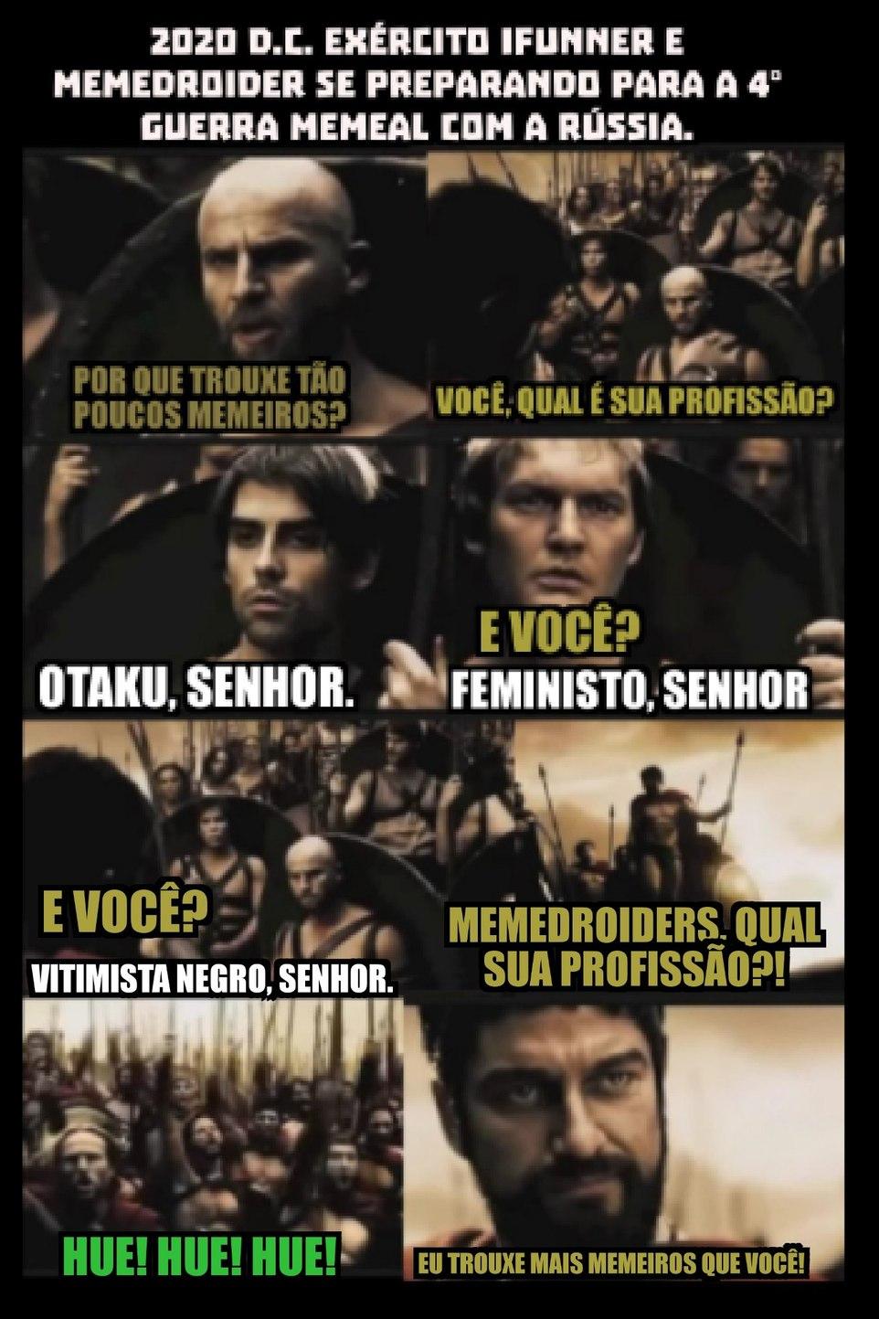 Brasil x Rússia. - meme