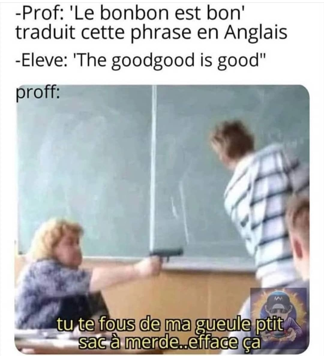 The goodgood is so good - meme