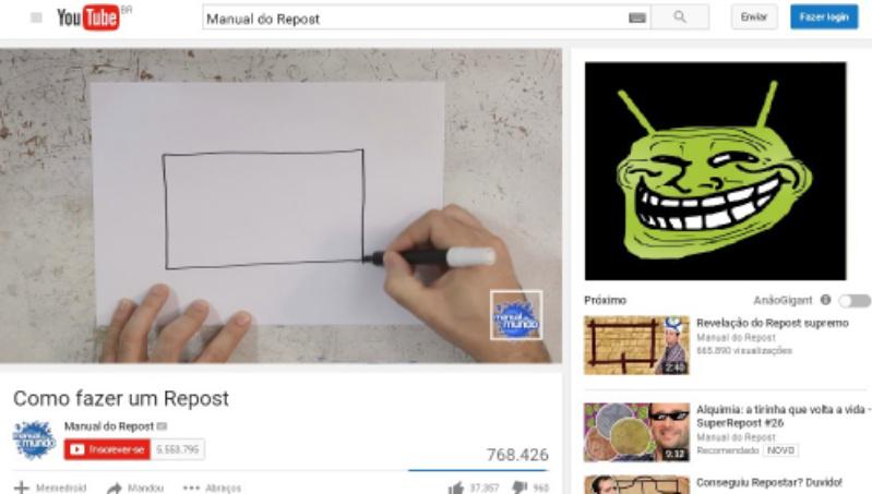 Manual do memedroid?