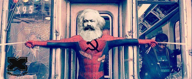 quando desejam retratar sua luta contra o capitalismo - meme