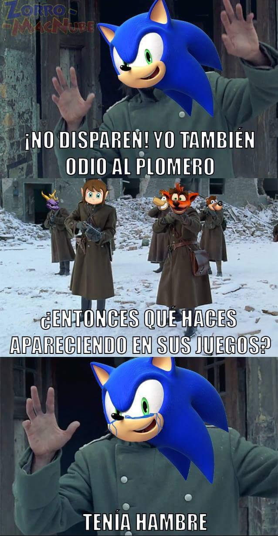 Pobre Sonic :'c - meme