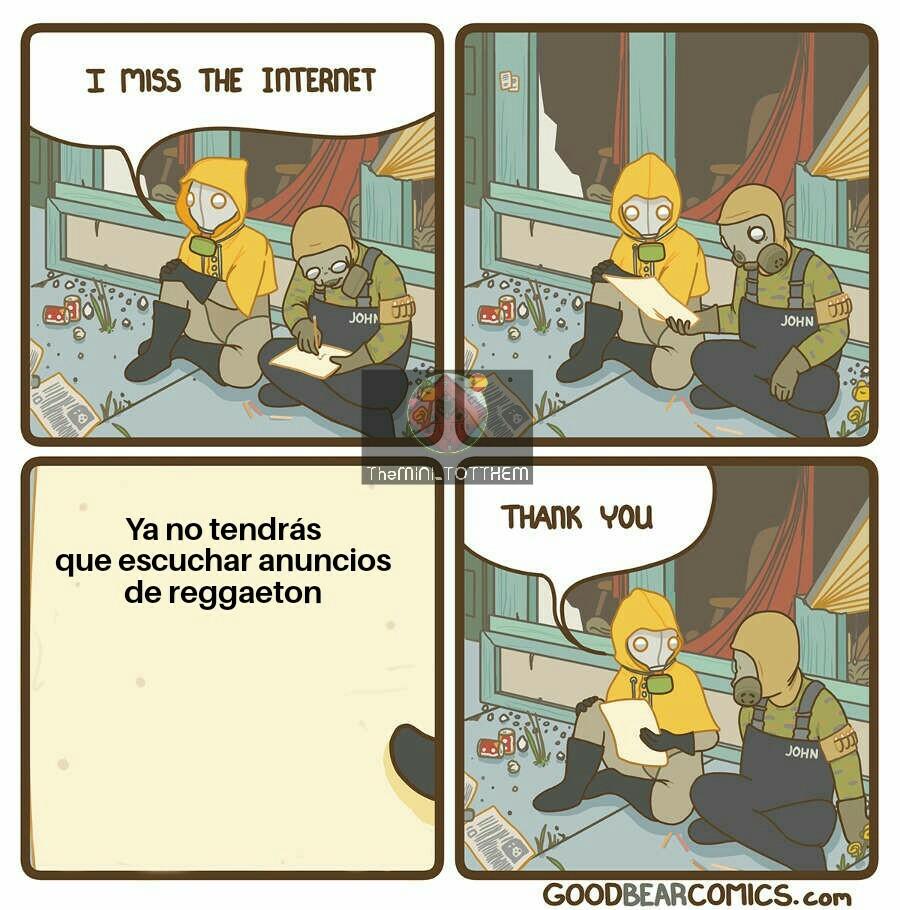 Post-apocalíptico - meme