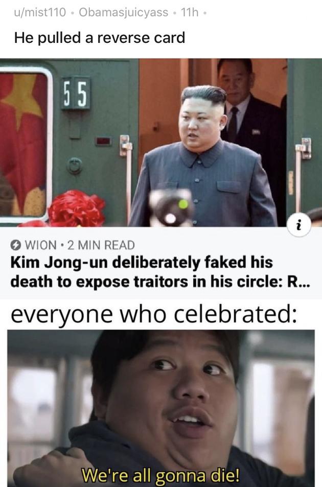 Genocide time - meme