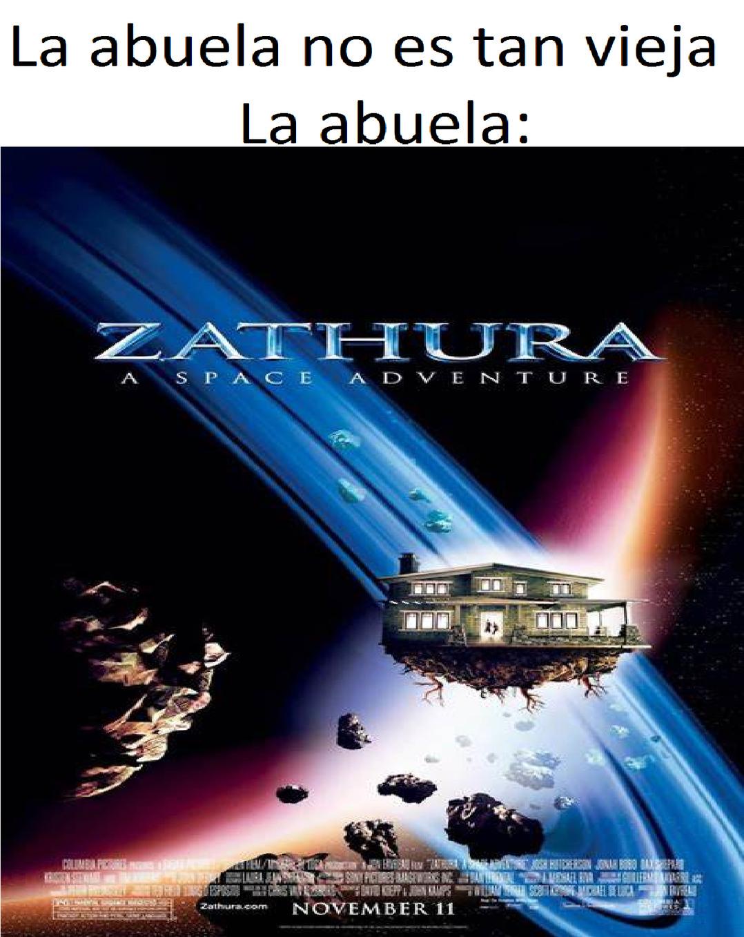 Zathura - meme