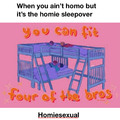 It's not homo