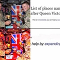 rule Britannia! Britannia rule the waves!! Britons never never never shall be slaves!!!!!