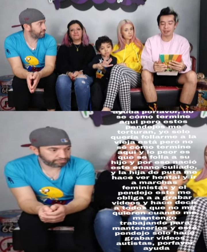 Que familia de mierda la peor de Colombia - meme