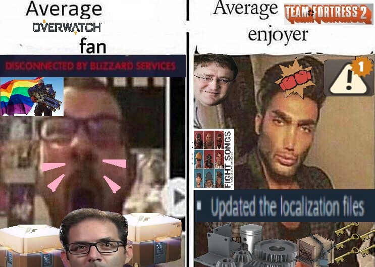 A meme I made to troll my Overwatch loving friend some time ago