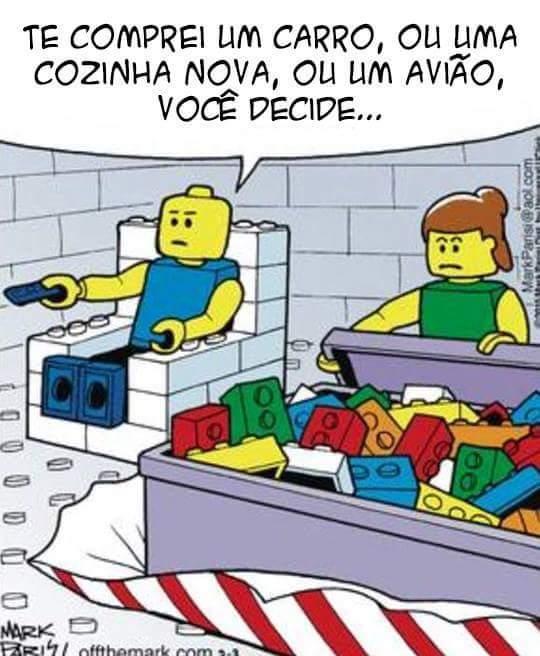 Mundo lego - meme