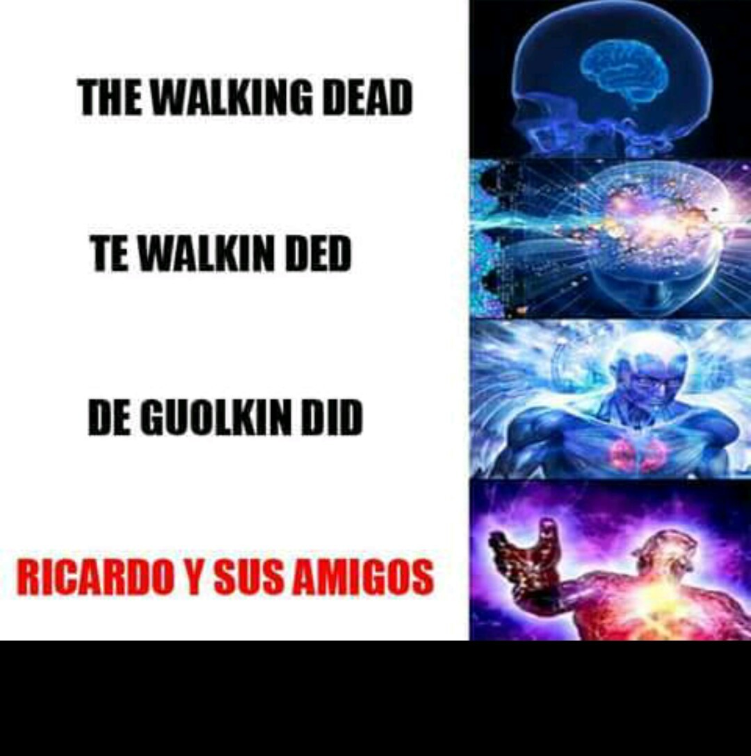 The walking dead - meme