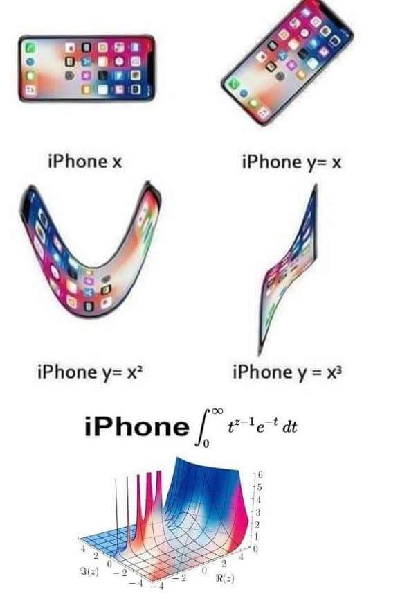 A guide for everyone having trouble with all the new iPhones coming out - meme