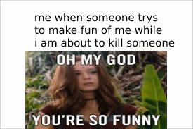 hahahaha.....no - meme
