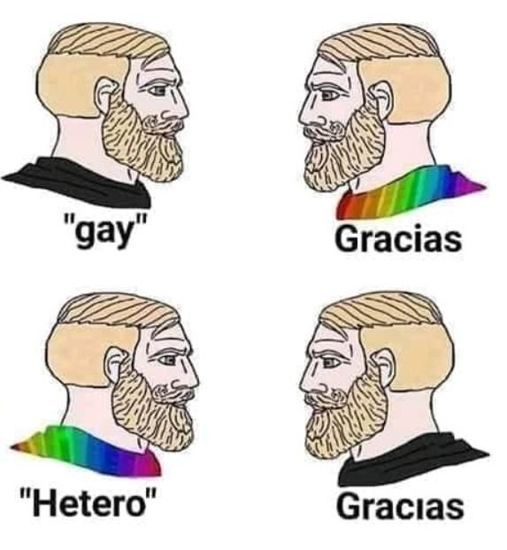 No sé peleen, todos somos iguales - meme
