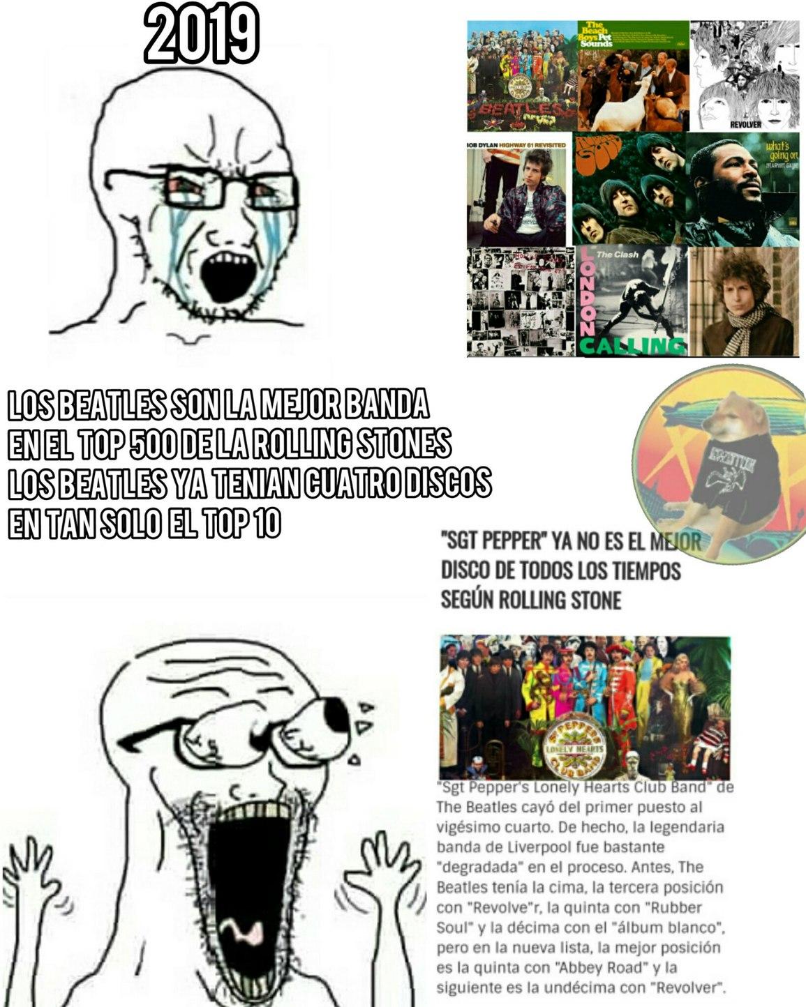 Por eso no usen de argumento lo que diga una revista - meme