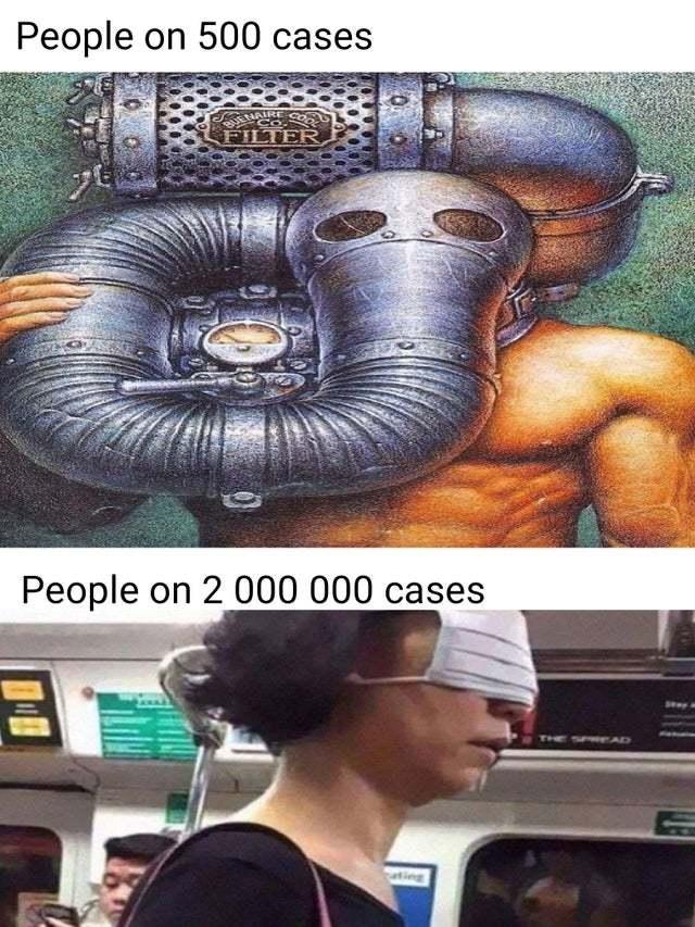 Coronavirus does not scare us anymore - meme