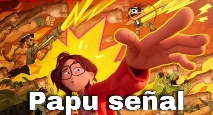 Papú señal - meme
