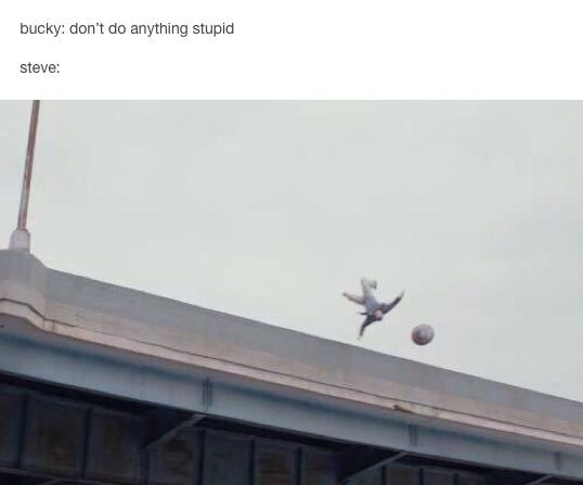 God damn it, Steve! - meme