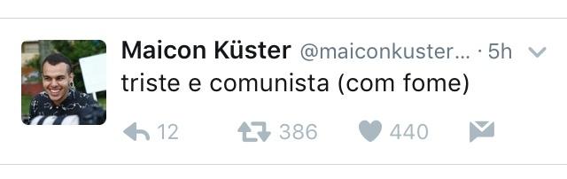 comunismo, a solução da obesidade. vc n come - meme