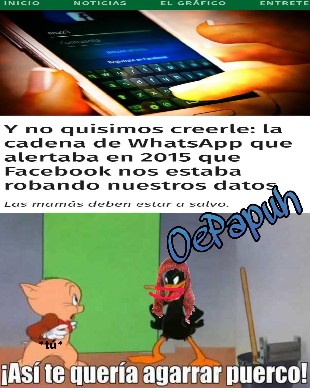 Cadenas - meme