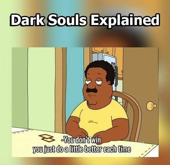 Dark souls - meme