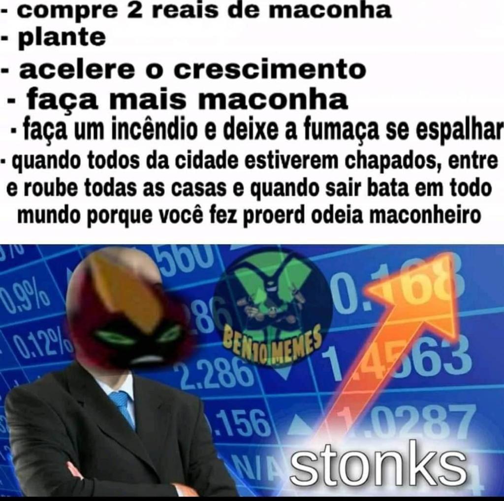 Bem 10 stonks - meme