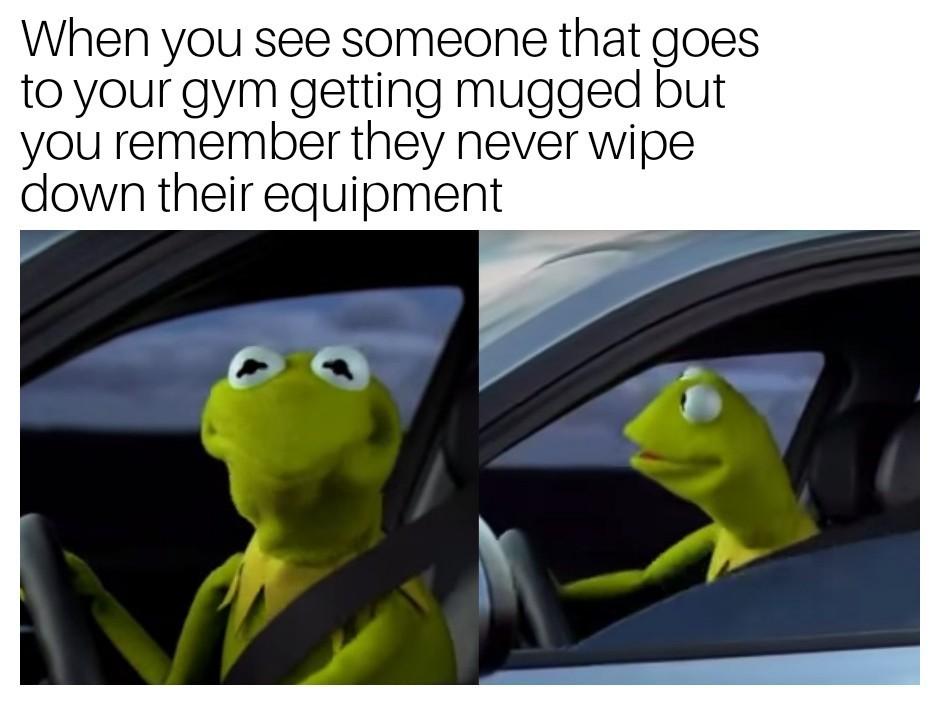 I hope they all get mugged. - meme