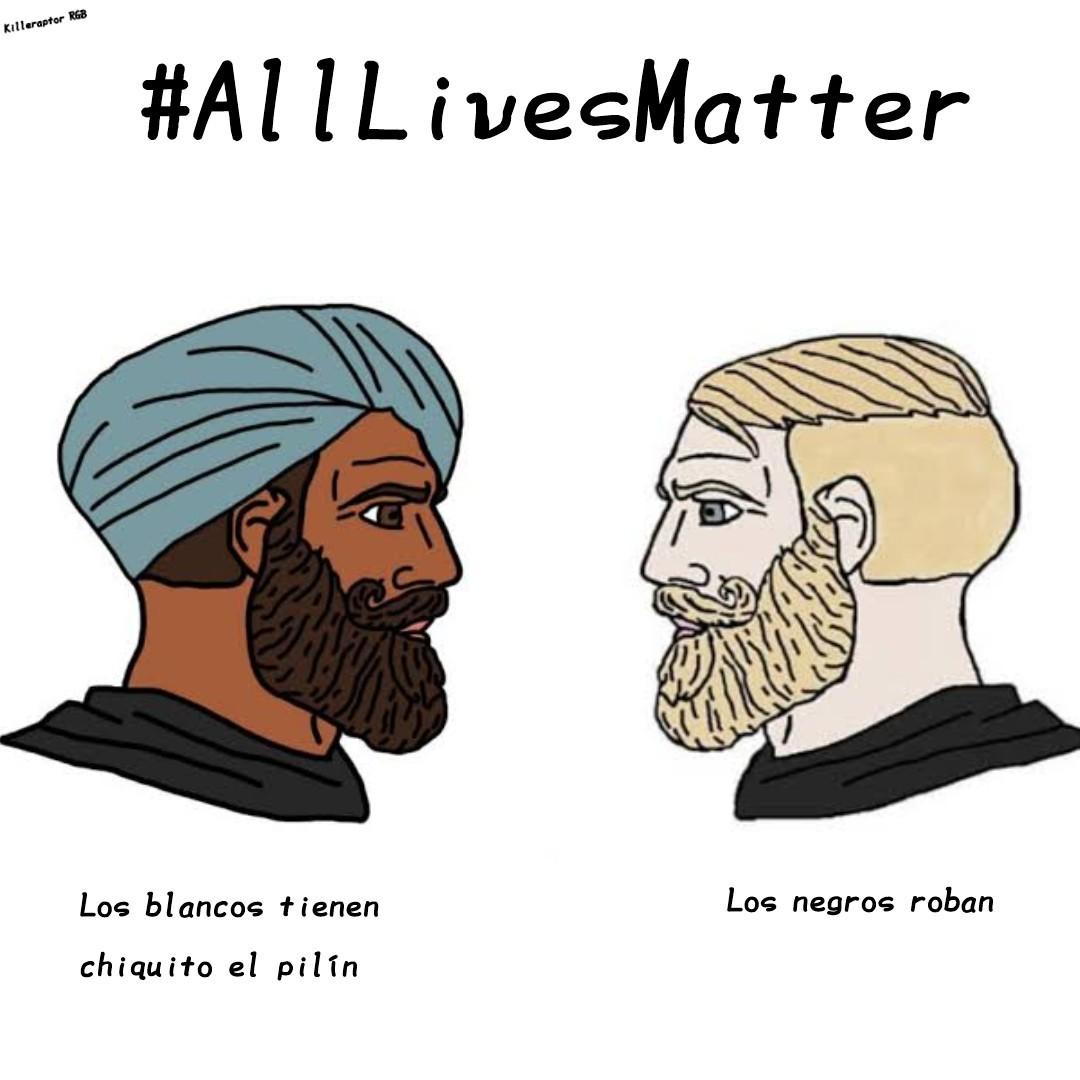 #AllLivesMatter <D - meme
