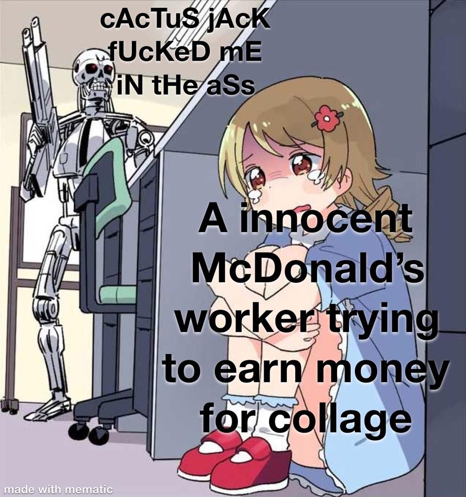 is the Travis Scott burger still relevant  - meme