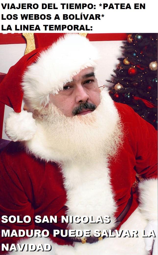 San Nicolás Maduro - meme