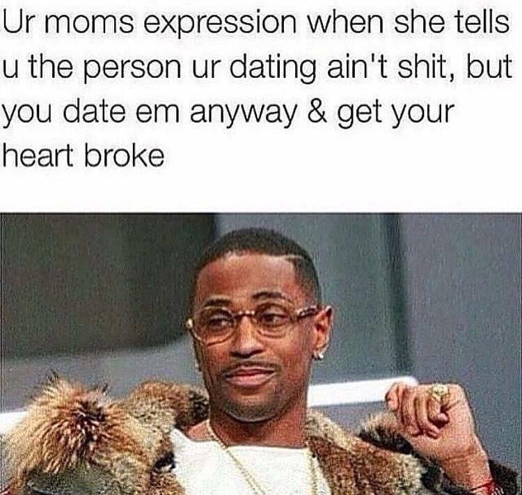 Momma knows - meme