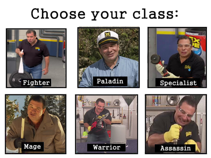 HEY GUYS PHIL SWIFT HERE WITH FLEX TAPE - meme