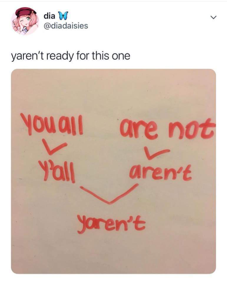Yaren't ready for this - meme
